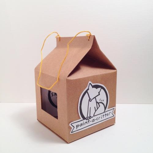 Paint-a-Fox Box