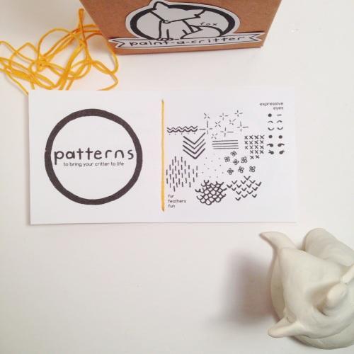 Paint-a-Fox Booklet